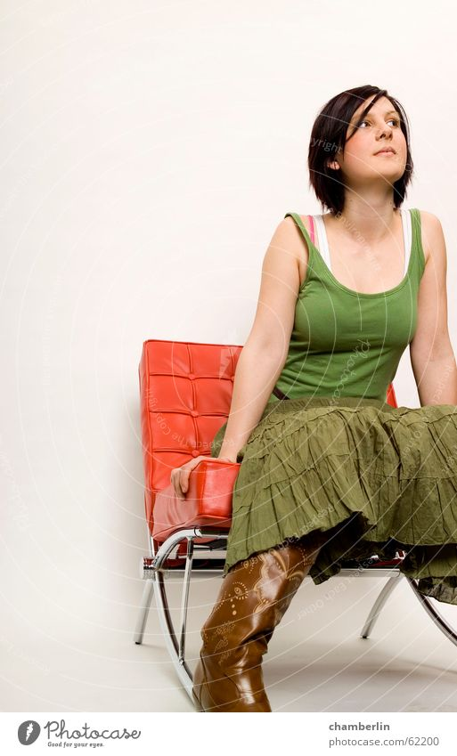 color2 Red Green White barcelona chair Fashion