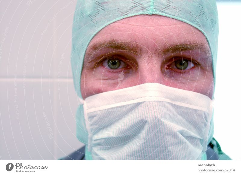 After the surgery Doctor Mask Surgeon Operation Kidney Health care Hope op hood organ donation Healthy god in white discomfort doctor's botched