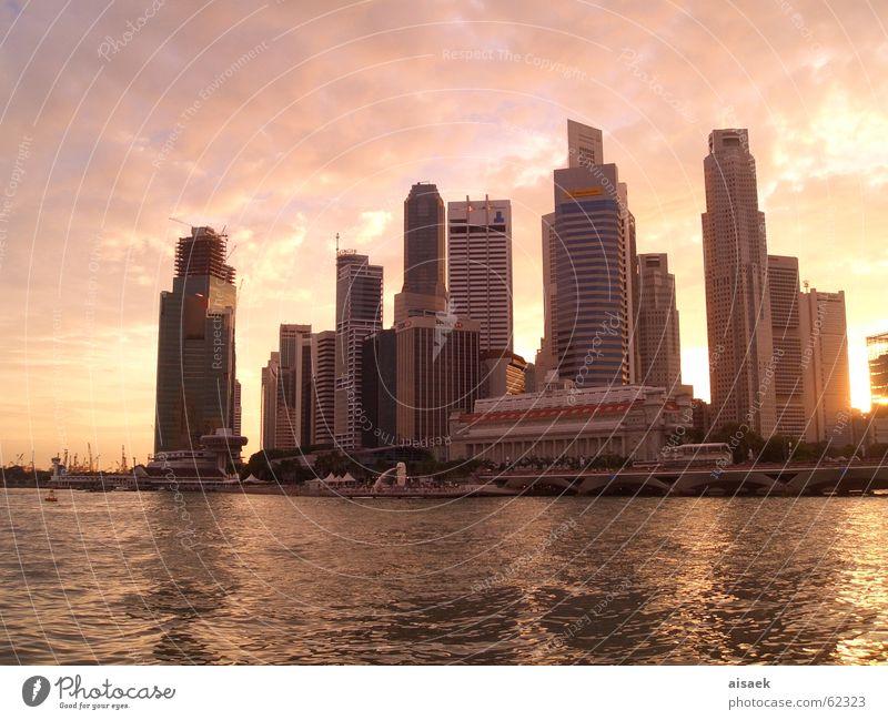 *singapore sunset* Singapore Sunset High-rise Asia Skyline