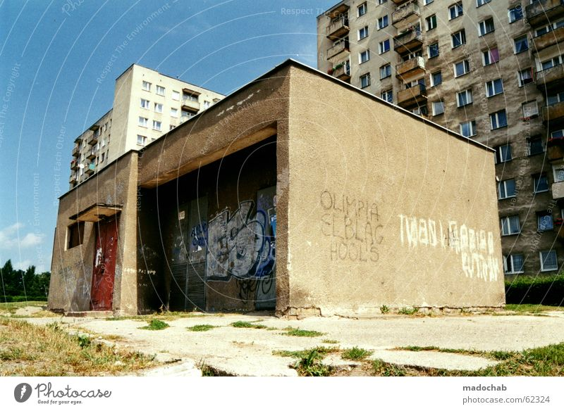 ghetto Ghetto High-rise Gloomy Doomed Success House (Residential Structure) Building Flat (apartment) Disadvantage Grade (school level) Class society