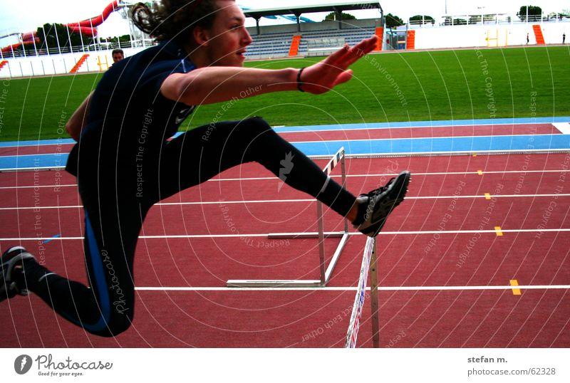 Sports Jump Walking Barrier Stadium Resume Track and Field Hurdle Hundred-metre sprint Hurdle run