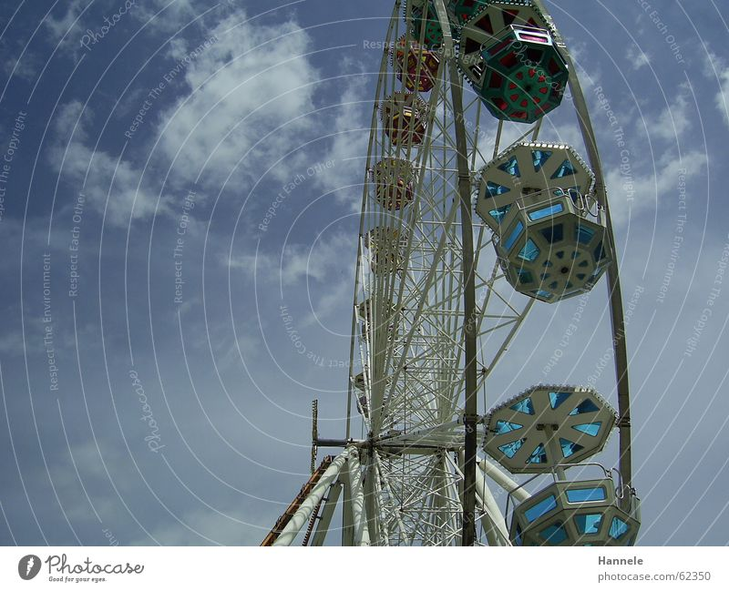 over the clouds... Clouds Ferris wheel Fairs & Carnivals Festival Sky Feasts & Celebrations Joy