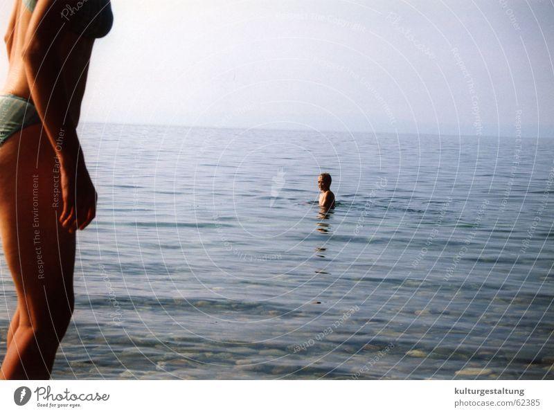 Sky Blue Water Ocean Summer Joy Loneliness Lake Healthy Swimming & Bathing Clarity Bikini Russia Swimming trunks Swimsuit