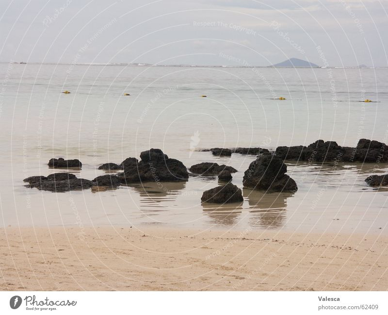 Water Ocean Beach Vacation & Travel Stone