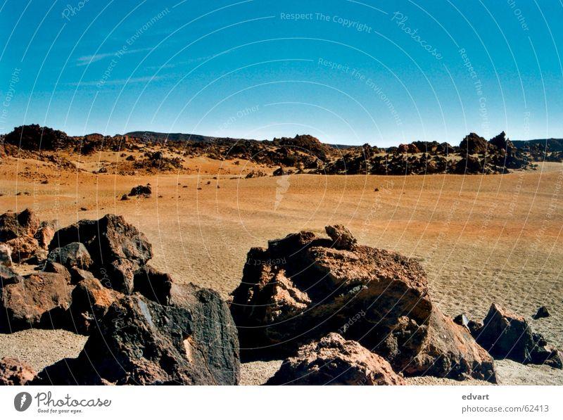 Sky Sand Rock Gloomy Sparse