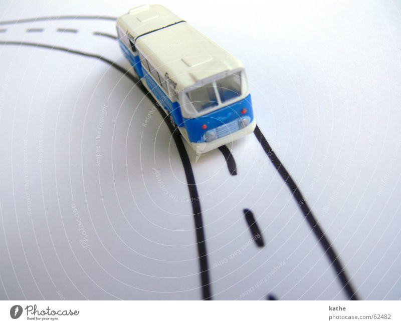White Blue Vacation & Travel Street Lanes & trails Planning Paper Target Toys Transport Traffic infrastructure Bus Vehicle Tourist