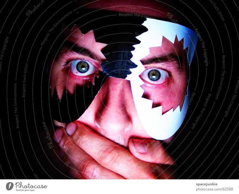 voodoo Man Hand Horror Freak Black White Dark Magic Black Magic Obsessed Africa Magician Art Typesetter Crazy Human being Face Mask Eyes Shock Tradition
