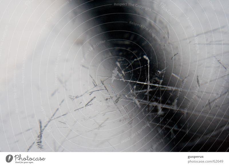 Beautiful Life Glass Shabby Surface Second-hand Scratch mark Run-down