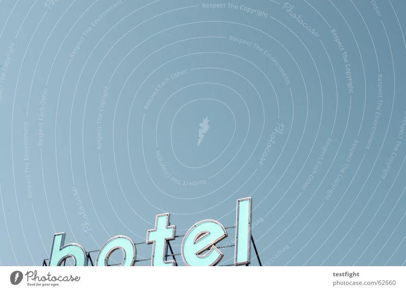 Sky Vacation & Travel Blue Summer Relaxation Joy Signs and labeling Free Tourism Characters Sleep Cloudless sky Hotel Services Typography Competition