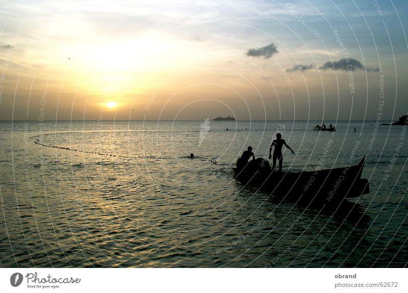 Fishing1 Fisherman Sunset Romance Cuba fishing outdoor photo sea