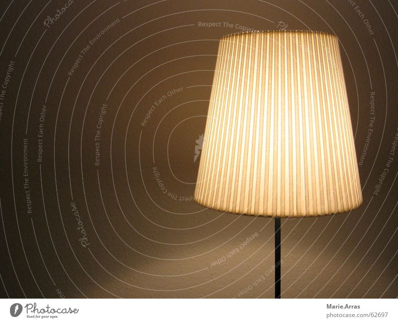 Lamp Brown Dusk Lampshade Homey Luminosity Standard lamp Floor lamp