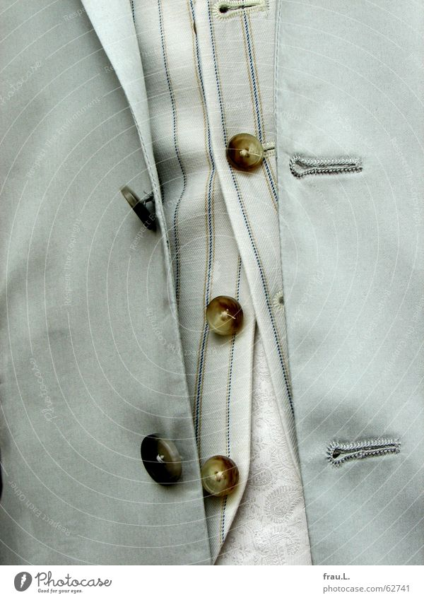 Man Rope Clothing Speed Stripe Things Suit Jacket Shirt Chic Buttons Untidy Vest Silk Fashion