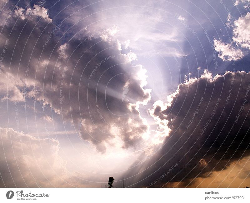Sky Sun Clouds Dark Lighting Stairs Threat Dramatic Tear open Menacing