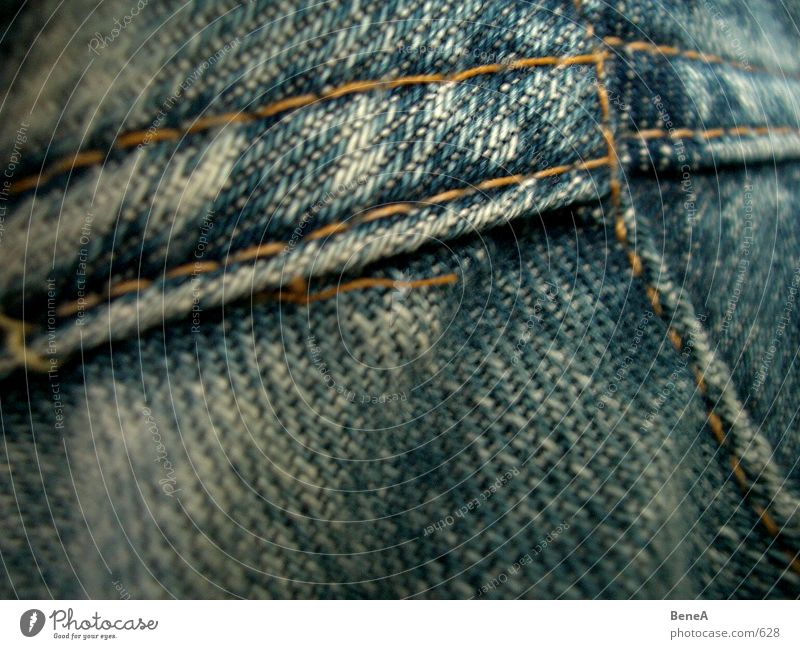 jeans Cloth Pants Stitching Clothing Design Style Pattern Yellow Grunge Dark Blur Near Textiles Quality Stability Continuous Macro (Extreme close-up) Close-up