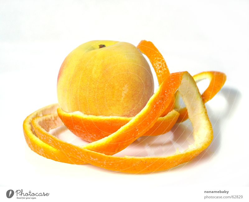 Orange Fruit Skin Peach Orange peel