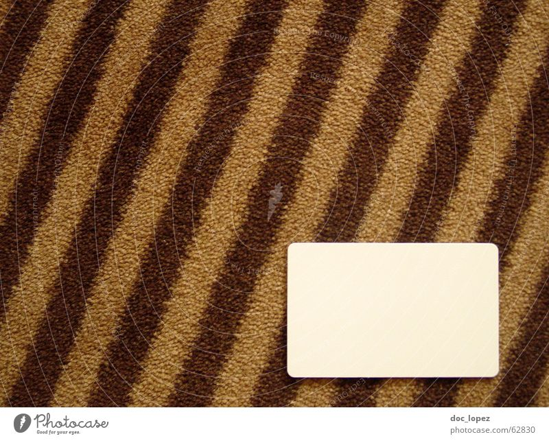 copytext place Striped Carpet White Brown Places Diagonal Floor covering Bird's-eye view Graphic Text Hotel Room End Card kaertchen tiger carpet fluffy template