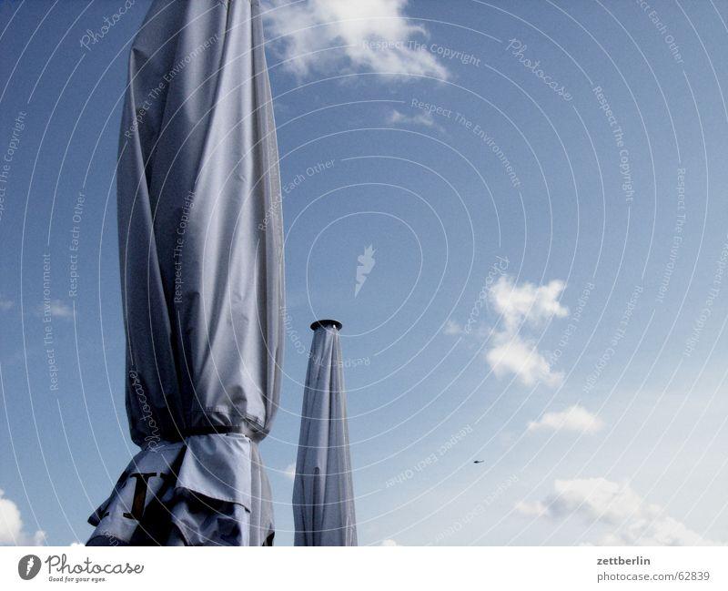 Sky Sun Ocean Blue Vacation & Travel Clouds Rain Sunshade Terrace Rügen Helicopter Sassnitz