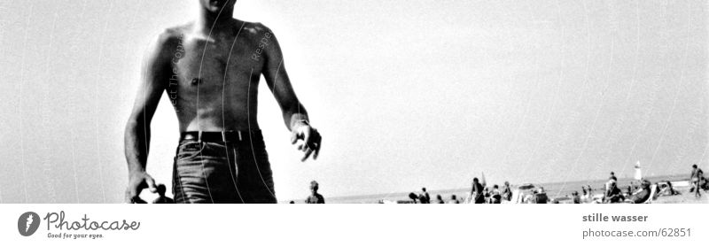 YEARS AGO. Beach Black White 19 Human being Body Water what do you want