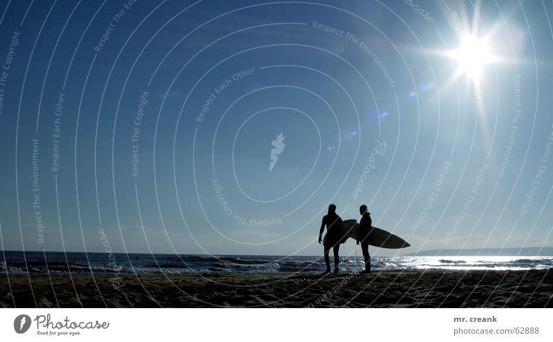 Sun Ocean Beach Lake Island Leisure and hobbies Surfing England Go under Surfer Great Britain Surfboard