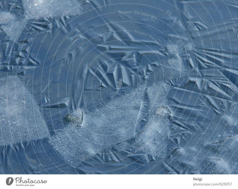 Nature Blue Calm Winter Cold Environment Gray Natural Exceptional Ice Authentic Dangerous Esthetic Simple Change Uniqueness