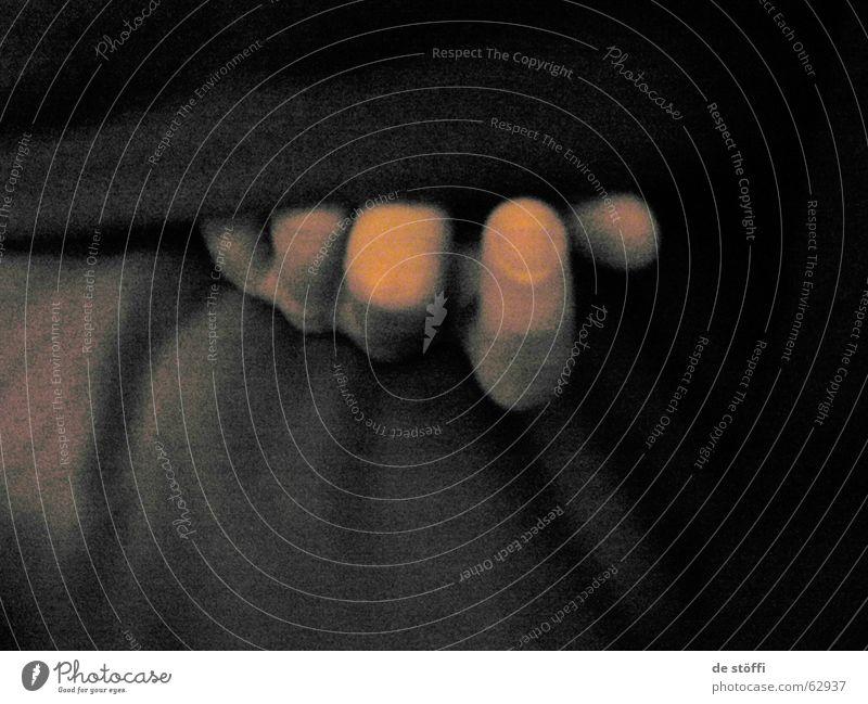 de fingers of the sleeping A. hole Fingers Hand Dark Black Fingernail Bed Shadow