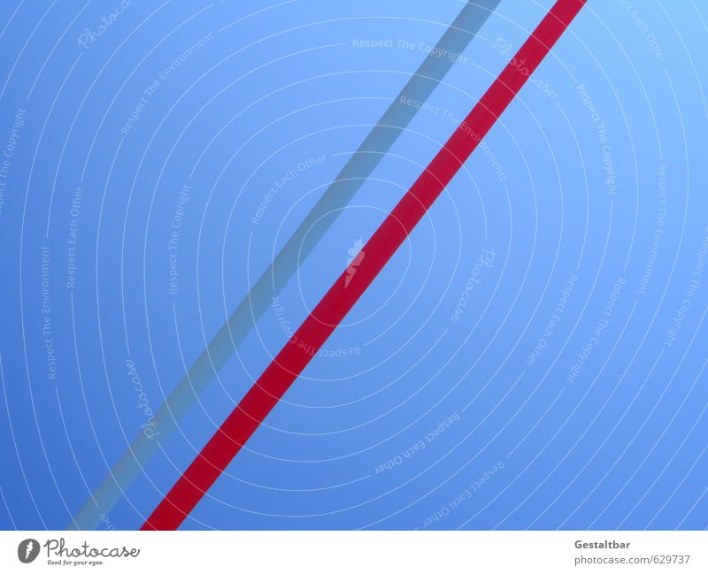 Blue Red Line Power Arrangement Success Growth Perspective Tall String Change Stripe Infinity Thin Positive Optimism