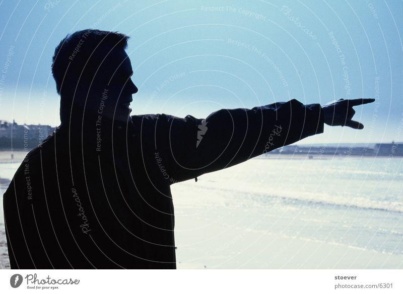 outline Beach Man Ireland demonstrating Sky Human being