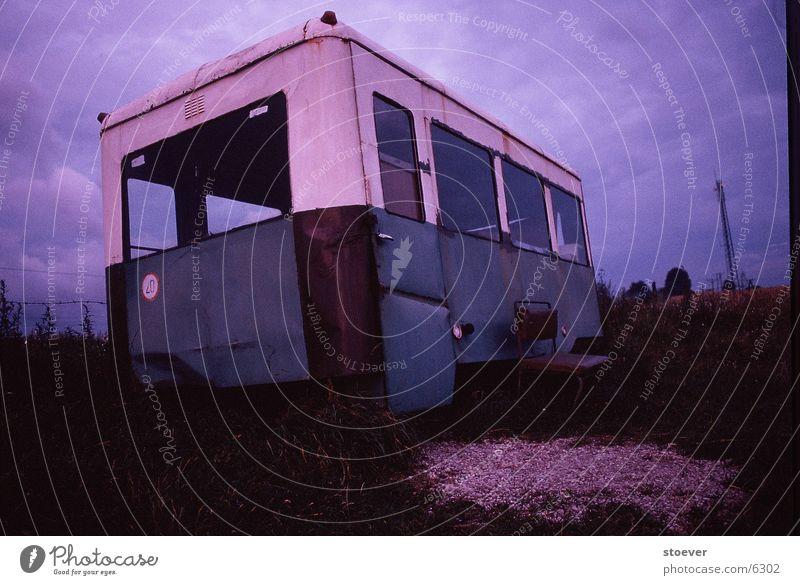 Sky Meadow Europe Bus Motionless Poland