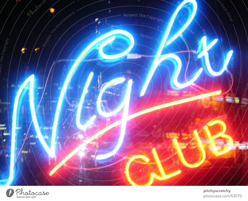 nightclub Advertising Night Party Bar Neon light Tavern Light Town Night life Bright Gastronomy Fluorescent Lights Joy Alcoholic drinks Club