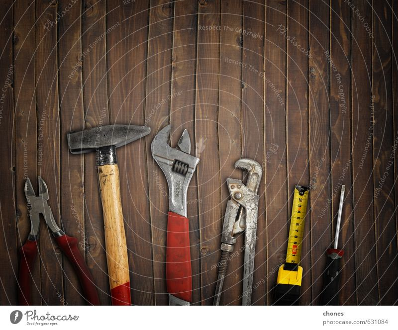 tools Work and employment Industry Hammer Man Adults Father Group Metal Steel Dark Brown Red Idea background claws Conceptual design dad Driver equipment