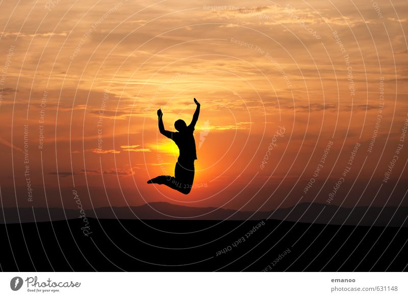 Pleasure jump 17 Lifestyle Style Joy Well-being Contentment Vacation & Travel Far-off places Freedom Summer Sun Sports Human being Man Adults