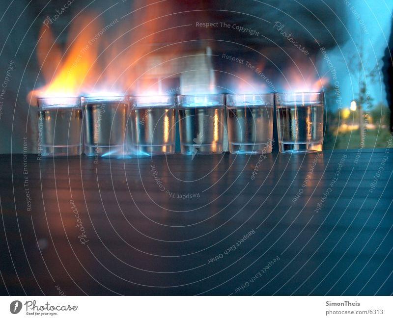 Glass Blaze Table Alcoholic drinks Burn Flame Ignite Spirits