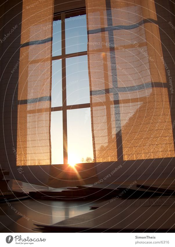 in the morning Sunrise Window Paper Things File Morning