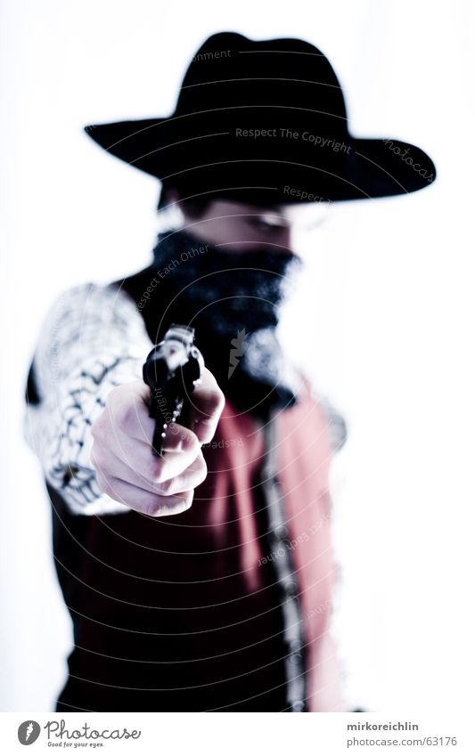The Cowboy 1 Boy (child) Man Handgun Rifle Wild Criminal sherif revolover Hat bigway West Vest Force
