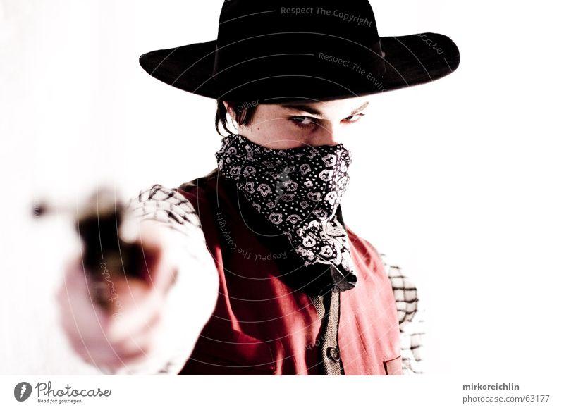 Man Boy (child) Wild Force Hat Cowboy West Handgun Criminal Vest Weapon Rifle