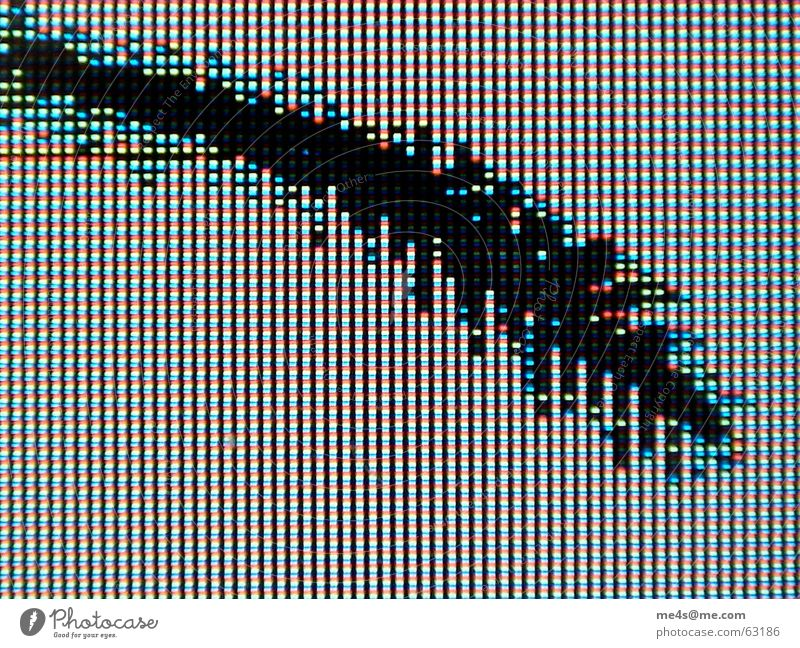 White Green Blue Red Black Yellow Computer Broken Point Cellphone Information Technology Screen Broken Mobility Effort Crack & Rip & Tear