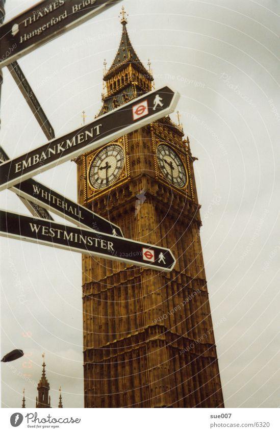 Big Ben London Town England Architecture