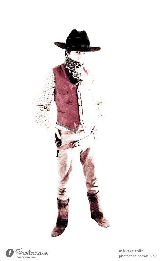 Man Boy (child) Wild Force Hat Cowboy West Handgun Criminal Vest Rifle