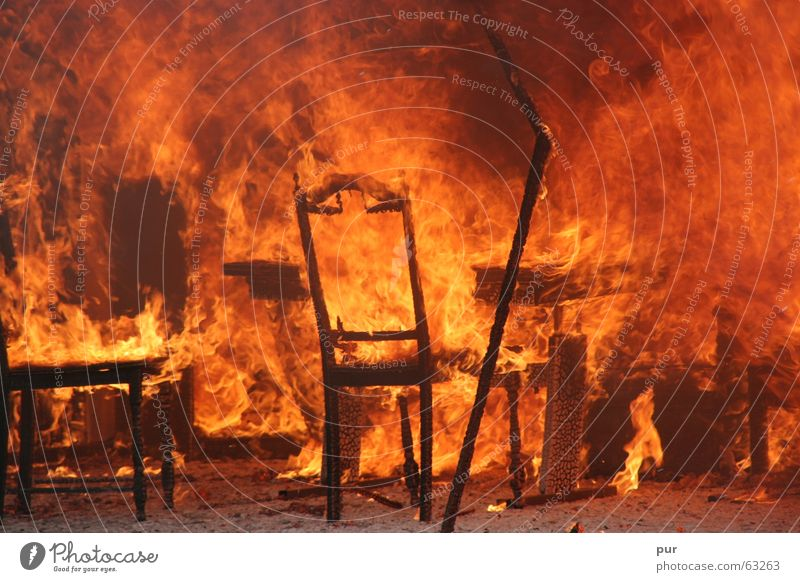 Playing Warmth Blaze Grief Chair Physics Hot Burn Flame Disaster Fire prevention Fire department Reunification Insurance Ashes