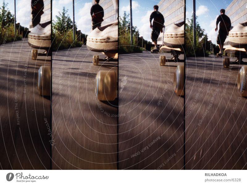 Summer Sports Lomography Asphalt Skateboarding Skateboard Extreme sports