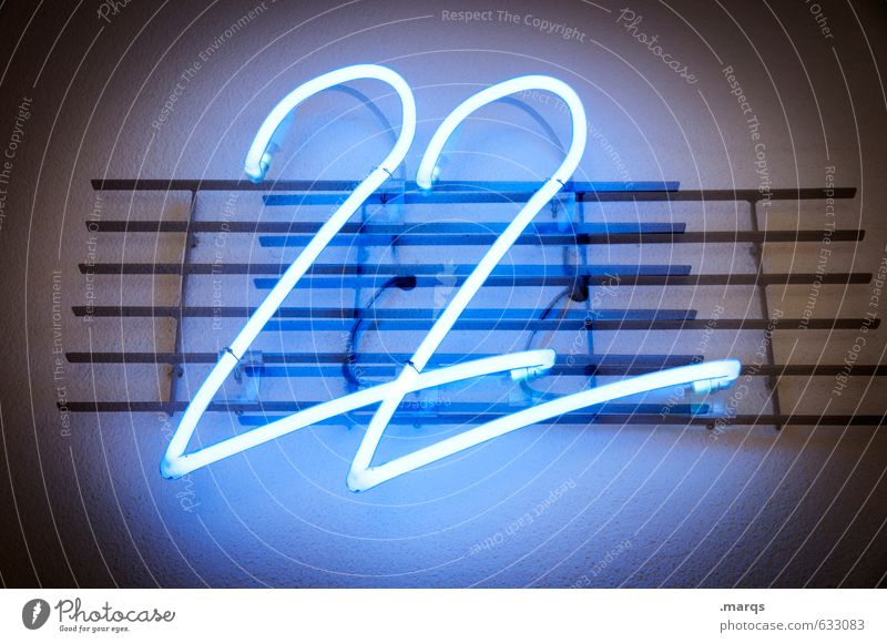 Blue 18 - 30 years Wall (building) Wall (barrier) Illuminate Simple Technology Digits and numbers Sign