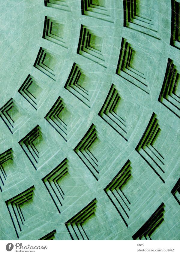 Green Gray Concrete Pasture Pantheon