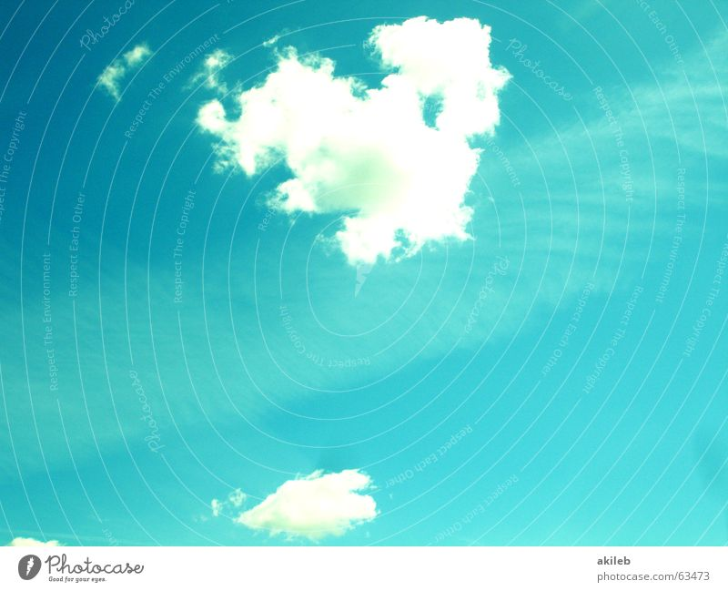 canopy Clouds Calm Safety (feeling of) Turquoise Hope Vail Sky Blue Heart Bright cirrostratus clouds