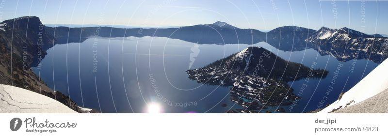Sky Nature Blue Water Sun Landscape Calm Winter Mountain Environment Snow Coast Lake Horizon Ice Climate