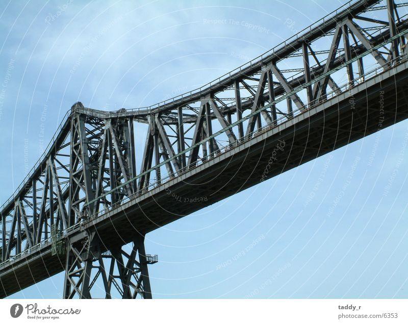 Bridge 1 Steel Gray Railroad Sky