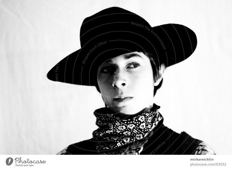 White Black Eyes Boy (child) Horse Ear Wild Hat Rag Eyebrow Cowboy West Vest Mistrust Child