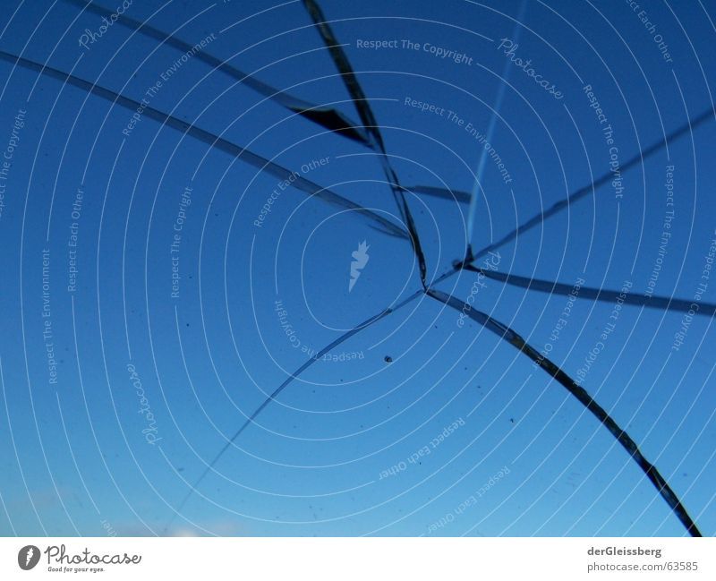 Fractions, fractions Near Fragment Dangerous Splinter Cold Sky Insecure Window Window pane Threat Fear Panic Obscure sapwood sharp Part perilous Glass Broken