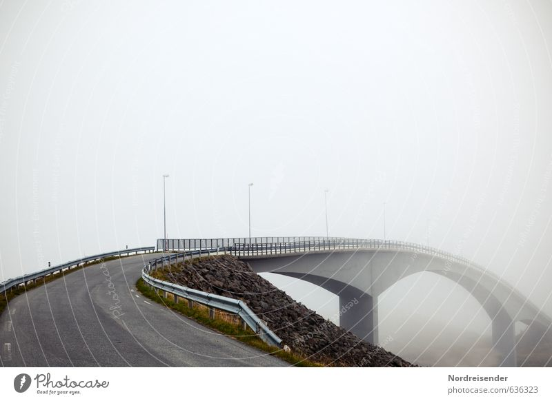 ways to nowhere.... Far-off places Fog Deserted Bridge Manmade structures Architecture Traffic infrastructure Street Lanes & trails Overpass Concrete Driving