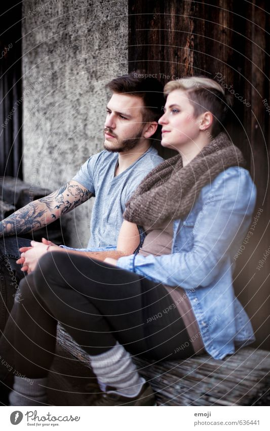 Human being Youth (Young adults) Beautiful Young woman 18 - 30 years Young man Adults Feminine Couple Friendship Masculine Cool (slang) Hip & trendy