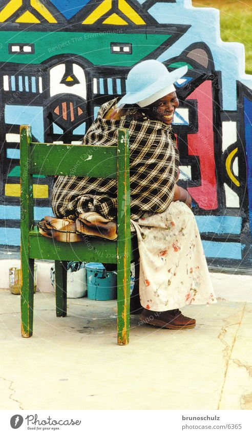 Ndebele Africa Woman Art Tradition Human being Multicoloured ndebele Colour Vacation & Travel Creativity Soul